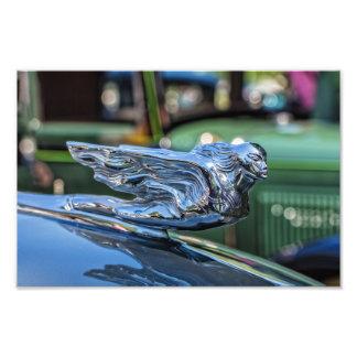Klassische Hauben-Verzierung Cadillacs Kunstfoto