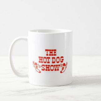 Klassische Hotdog-Show-Tasse Kaffeetasse