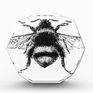 Klassische Hummel-Biene Acryl Auszeichnung