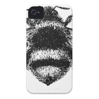 Klassische Hummel-Biene iPhone 4 Case-Mate Hülle