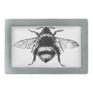 Klassische Hummel-Biene Rechteckige Gürtelschnallen