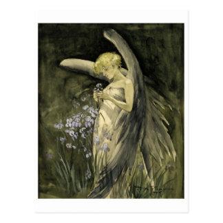 Klassische Illustrations-Postkarte Postkarte