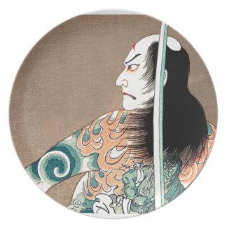 Klassische japanische legendäre teller