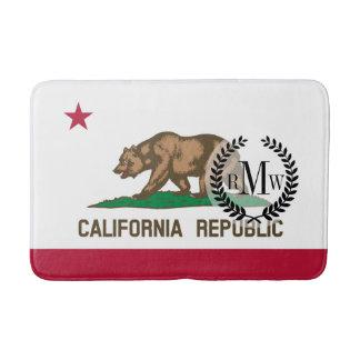 Klassische Kalifornien-Staats-Flagge Badematte