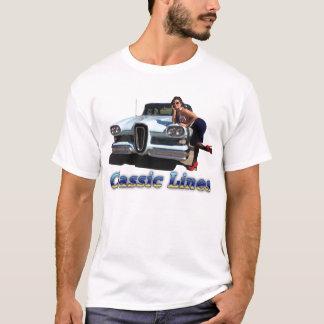 Klassische Linien T-Shirt