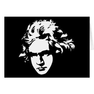 Klassische Musik-Komponist-Beethoven-Geschenk Karte