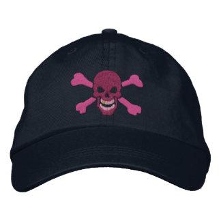 Klassische Piraten-Knochen-Schädel-Stickerei Bestickte Baseballmütze