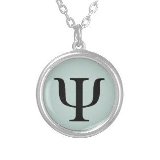 Klassische Psychologie-Symbol-Halskette Halskette Mit Rundem Anhänger