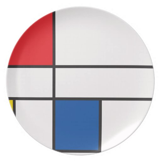 Klassische Quadrate Flache Teller