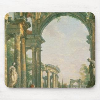 Klassische Ruinen, 18. Jahrhundert Mousepads