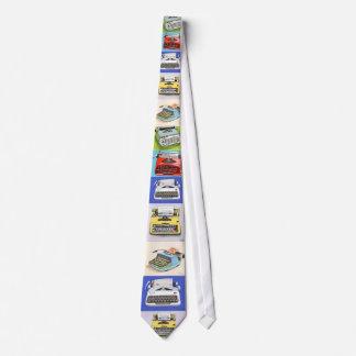 Klassische Schreibmaschinen-Krawatte Krawatte
