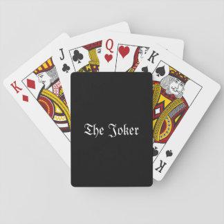 Klassische Spielkarten der Joker