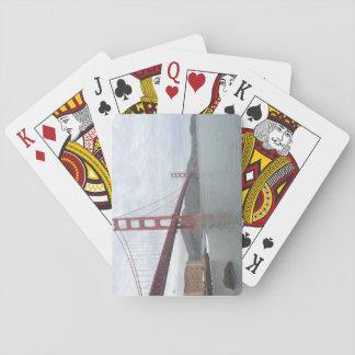 Klassische Spielkarten Golden gate bridges