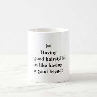 Klassische Tasse für coole Hairstylists!