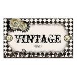 Klassische Vintage inspirierte Geschäftskarten Visitenkarte