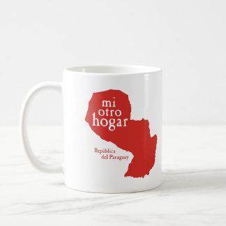 Klassische weiße Tasse PARAGUAY