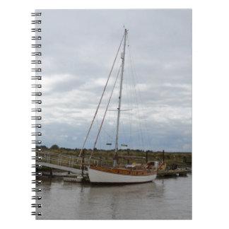 Klassische Yacht Thruppence Spiral Notizblock