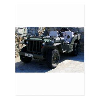 Klassischen Willys Jeep Postkarten