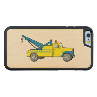 Klassischer Abschleppwagen Bumper iPhone 6 Hülle Ahorn