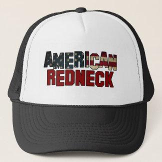Klassischer amerikanischer truckerkappe
