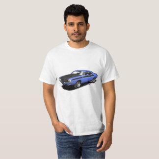 Klassischer Auto-T - Shirt des blauen