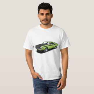 Klassischer Auto-T - Shirt des grünen