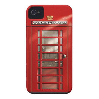Klassischer britischer roter Telefonzelle iPhone 4 iPhone 4 Hüllen