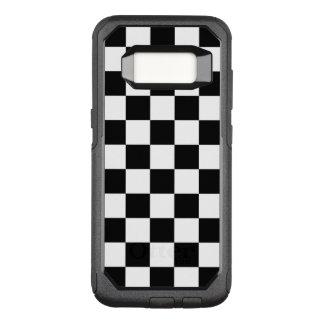 Klassischer Checkered laufender Flaggen-Karo OtterBox Commuter Samsung Galaxy S8 Hülle