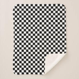 Klassischer Checkered laufender Sport-Karo Sherpadecke