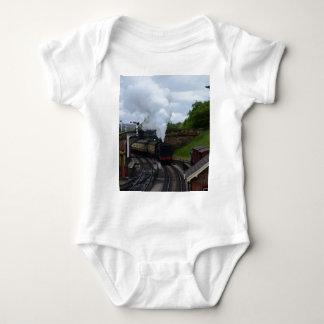 Klassischer Dampf-Zug Baby Strampler
