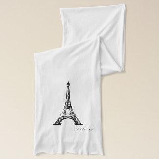 Klassischer Eiffelturm | Paris Schal