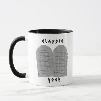 Klassischer Felsen (Tasse) Tasse