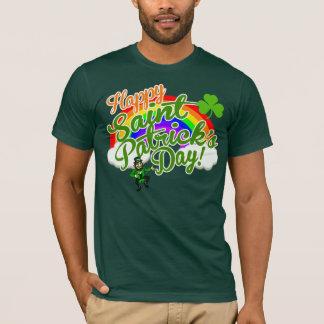 Klassischer glücklicher Heiligen Patrick Tag T-Shirt