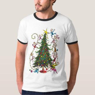 Klassischer Grinch | Weihnachtsbaum T-Shirt