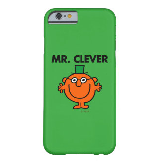 Klassischer Herr Clever Logo Barely There iPhone 6 Hülle