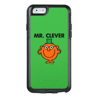 Klassischer Herr Clever Logo OtterBox iPhone 6/6s Hülle