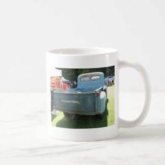 Klassischer internationaler LKW Kaffeetasse