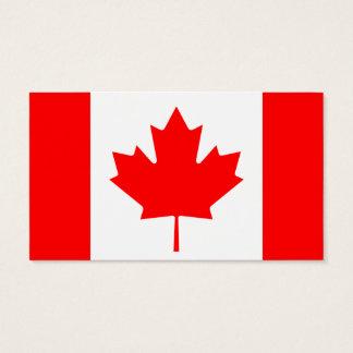 Klassischer Kanadier Visitenkarte