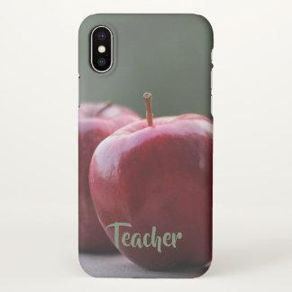 Klassischer Lehrer iPhone X Fall iPhone X Hülle