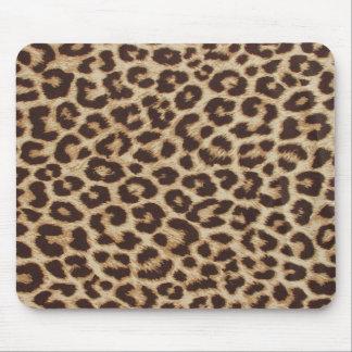 Klassischer Leopard-Druck Mousepad