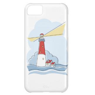 Klassischer Leuchtturm iPhone 5C Hülle