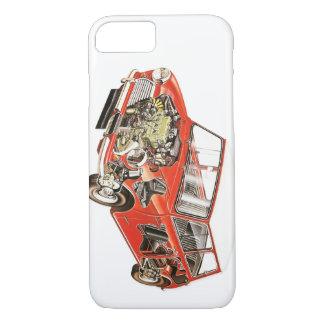Klassischer Minitelefon-Kasten iPhone 8/7 Hülle