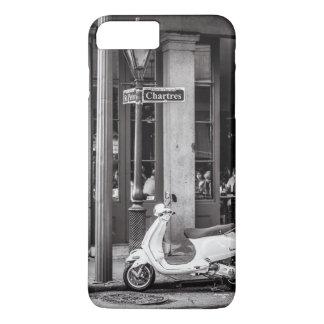 Klassischer Roller-Paris Frankreich iPhone 6 Fall iPhone 8 Plus/7 Plus Hülle
