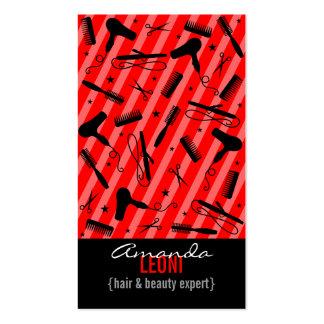 Klassischer roter u schwarzer Salon bearbeitet