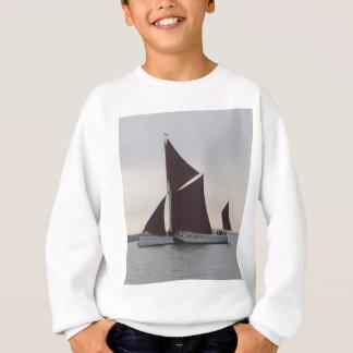 Klassischer Segeln-Lastkahn Sweatshirt