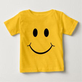 Klassischer Siebzigerjahre gelber Baby T-shirt