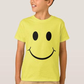 Klassischer Siebzigerjahre gelber T-Shirt