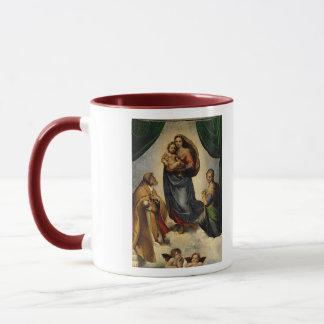 """Klassischer """"Sistine Madonna"""" RAPHAEL (circa 1513) Tasse"""