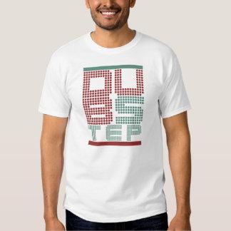 Klassischer Tollpatsch-Schritt-Art-T - Shirt