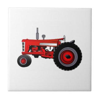 Klassischer Traktor Keramikfliese